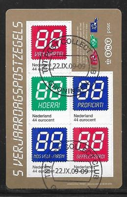 Ehrlichkeit Niederlande Gestempelt,mhe-162 Folienblatt Geburtstagsgrußmarken Mi 2691/2695