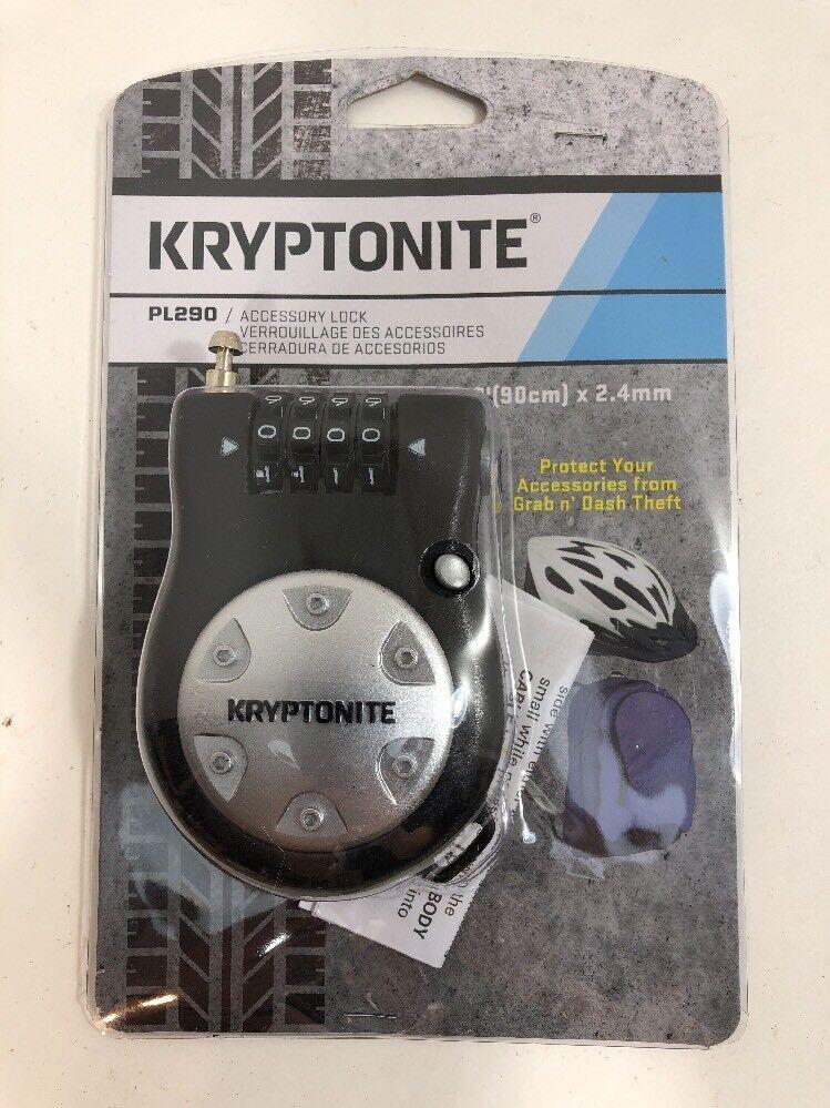 Nouveau Kryptonite R-2 Rétractable Combo Câble de verrouillage 3/' 90 cm