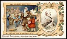 santino-holy card AIGUEBELLE-S.GREGORIO MAGNO PAPA