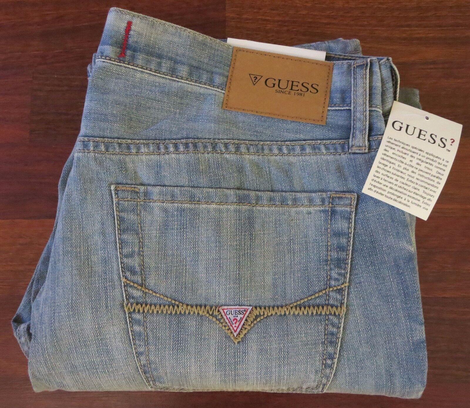 Raten Schmal Gerades Bein Jeans Herren Größe 40 X X X 32 Vintage Distressed  | Fein Verarbeitet  c36b51