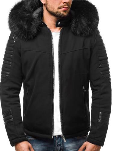 Giacca Inverno Parka cappotto TERMICO INVERNO CAPPOTTO COAT UOMO OZONEE 8784 MIX