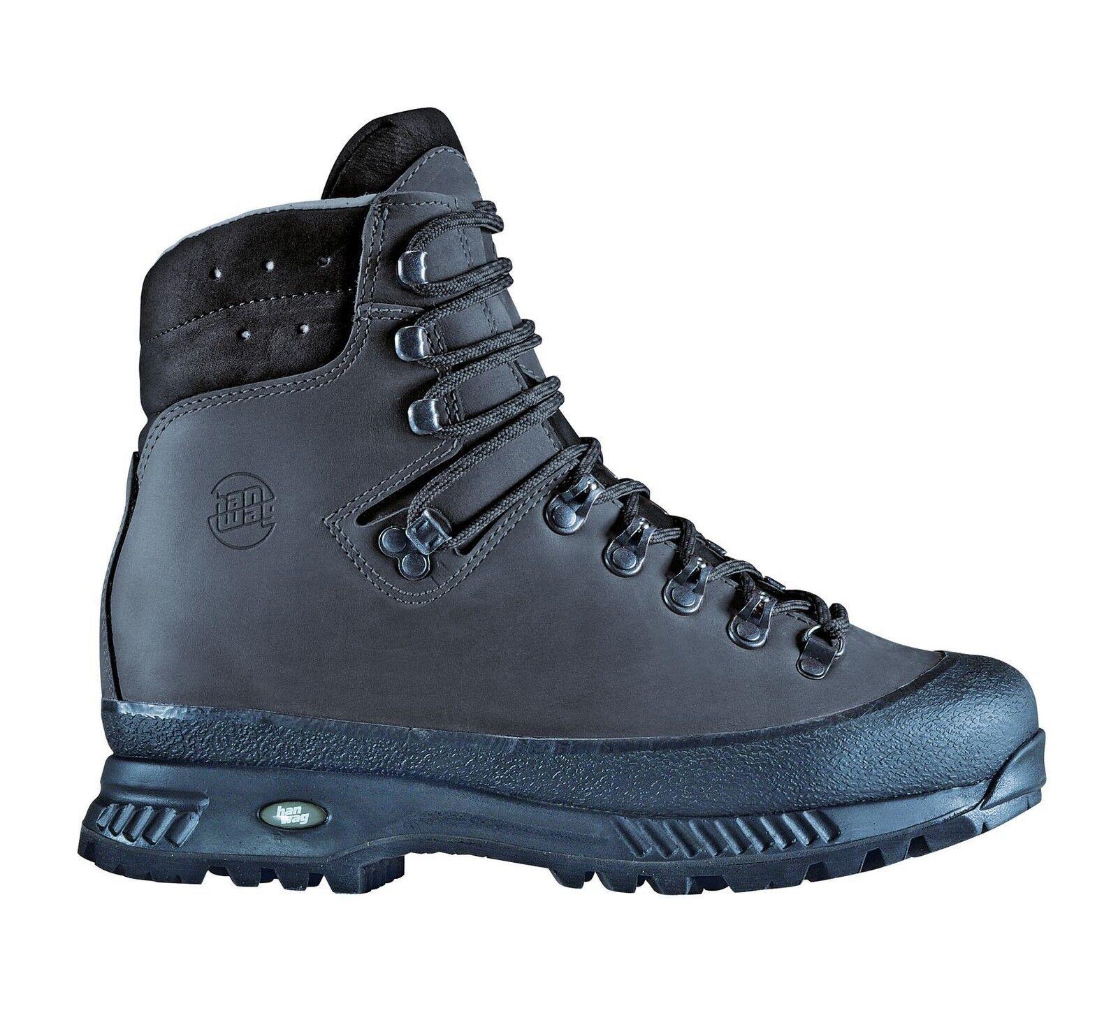 Hanwag zapatos de montaña  Yukon Men cuero tamaño 13 - 48,5 cenizas