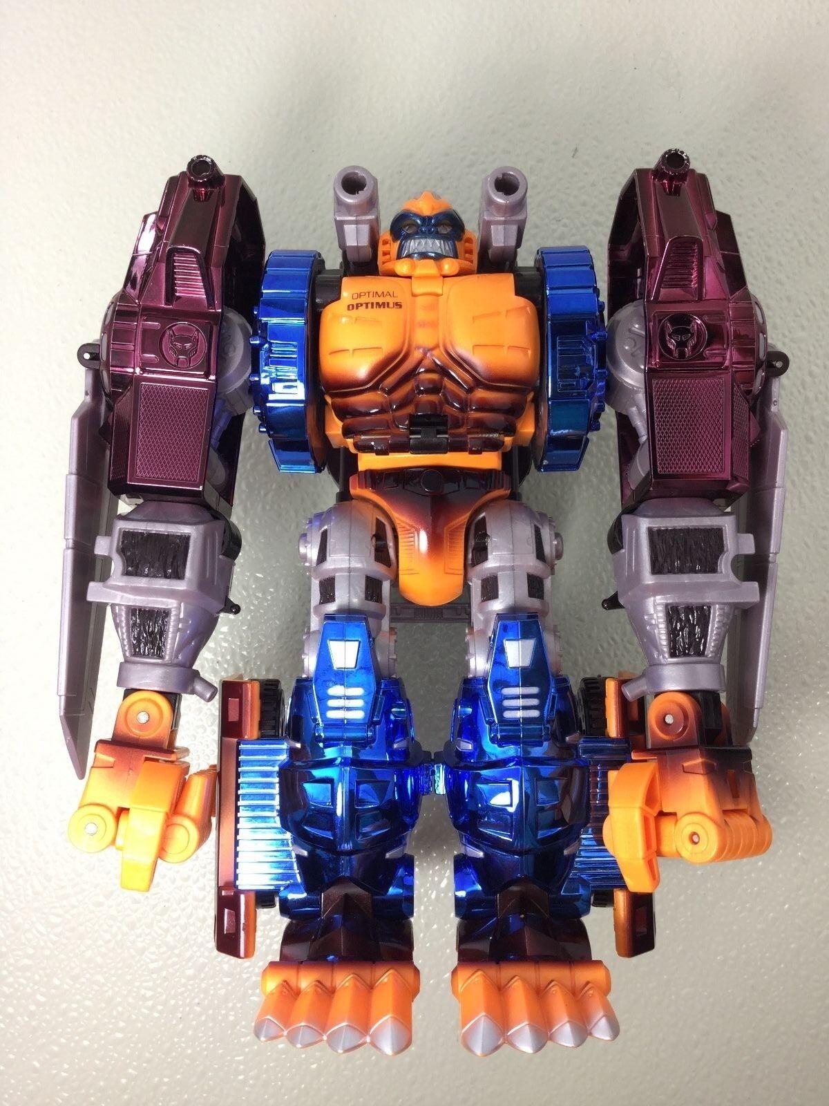 ProssoOTIPO Transformers Beast guerras ottimale Optimus Electronicmettuttiizzato