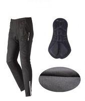 Fleece Thermal Winter Cycling Pants Bike Outdoor Windproof Tights / Waterproof