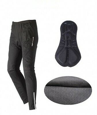 *Fleece Thermal Winter Cycling Pants Bike Outdoor Windproof Tights / waterproof