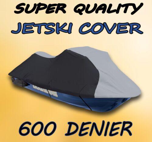 Kawasaki STX-15F 2009 2010 2011 2012 Jet Ski Trailerable Cover Grey//Black JetSki
