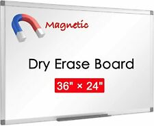 12 Pack Magnetic Whiteboard 36 X 24 Inch Dry Erase White Board Wall Board Gifts