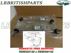 For Land Rover Range Rover Stabilizer Links Pair Front