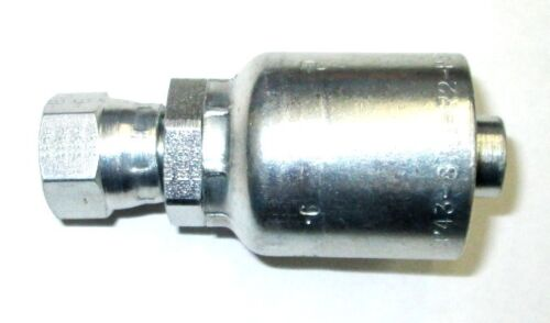 "HF 10643-14-12 Parker 10643-14-12 Fitting 3//4/"" Hose X 7//8/"" Female JIC 37ø Flar"