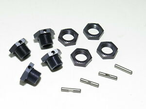 TKR9000 TEKNO RC EB48 2.0 BUGGY 17MM WHEEL HEXES WITH LOCKING NUTS