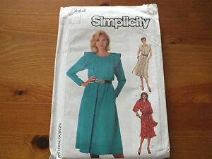 VINTAGE-SIMPLICITY-PATTERN-7223-Dress