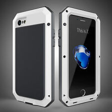Heavy Duty Shockproof Waterproof Aluminum Metal Cover Case iPhone Samsung S8 6 7