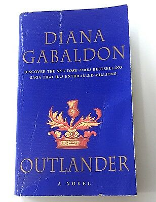 Outlander by Diana Gabaldon Book Paperback Novel Scottish Historical Romance