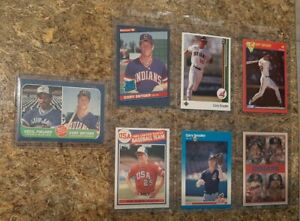 7-Cory-Snyder-1985-1986-Topps-Fleer-Donruss-Rookie-Card-lot-RC-Fielder-Indians