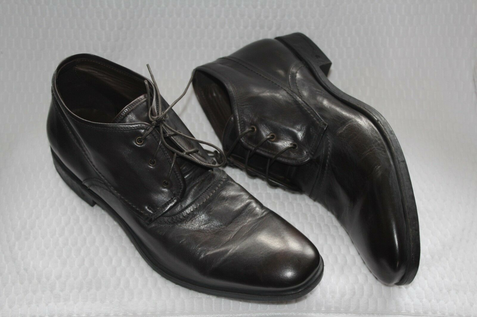 JOHN VARVATOS Botín Negro Cuero Vintage us