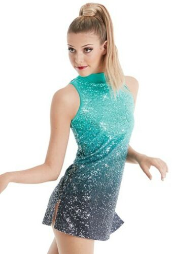 NEW FIGURE ICE SKATING BATON TWIRLING DRESS COSTUME DANCE COMPETITION SHOW