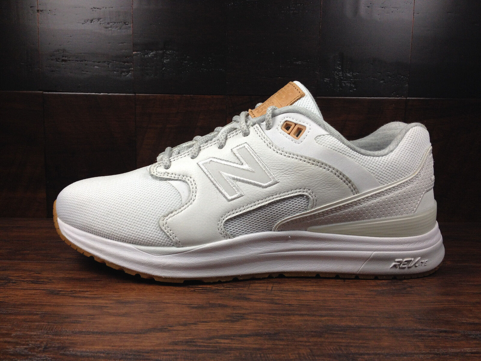 New Balance ML1550AD  Lifestyle PACK  (White   Tan) 1550 Mens Size 7 - 13