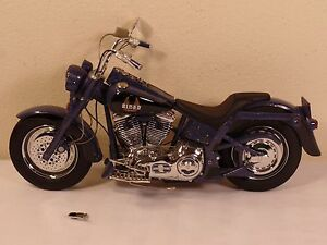 Franklin Mint Biker Blues Harley Motorcycle 1:10 Scale