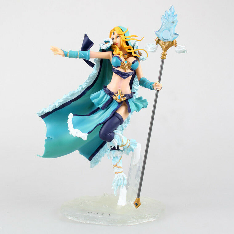Game DOTA 2 Defense of the Ancients Crystal Maiden PVC Figure Statue New In Box