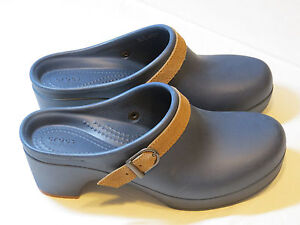 0772703698fa Crocs Sarah Clog Mule Duel Comfort Navy blue 20631 standard fit ...