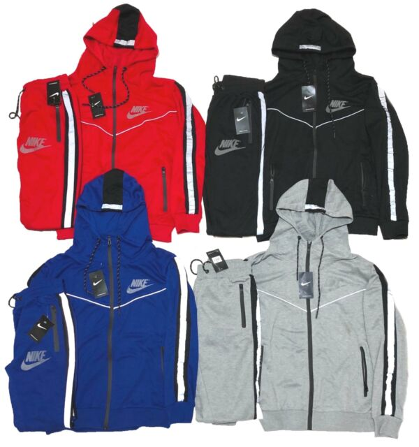 Mens Nike Club Tech Blue Camo Tracksuit Jogging Suit L Large 839669 410 For Sale Online Ebay