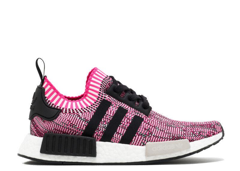 Adidas NMD R1 PK Pink Rose  BB2363 Primeknit Glitch Black Sz: 6-10