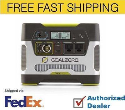 Goal Zero Yeti 400 Solar Generator, 220V,  USB , Recharge Solar, AC, Free Ship