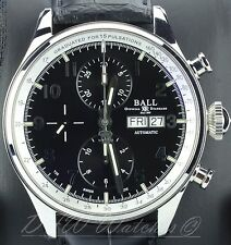 Ball Trainmaster Pulsemeter CM3038C 42mm Black - Boxes Papers