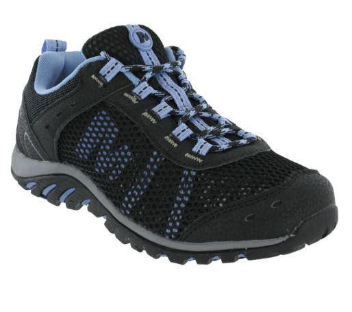 Merrell Tarim Malla De Encaje Correr Negro Lavanda para senderismo y zapatillas para mujer