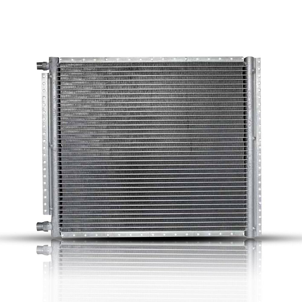 18mm Core Depth 4 Rails Unpainted l CN-PF1626-ACS Condenser A//C 16x26