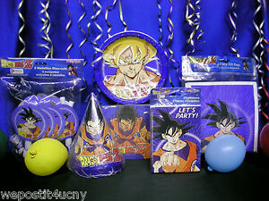 Dragon Ball Z Party Ideas For Birthday Ball Birthday Parties Ball
