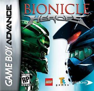 GBA Gameboy Advance lego Bionicle Heroes - Utiliza Buen Estado