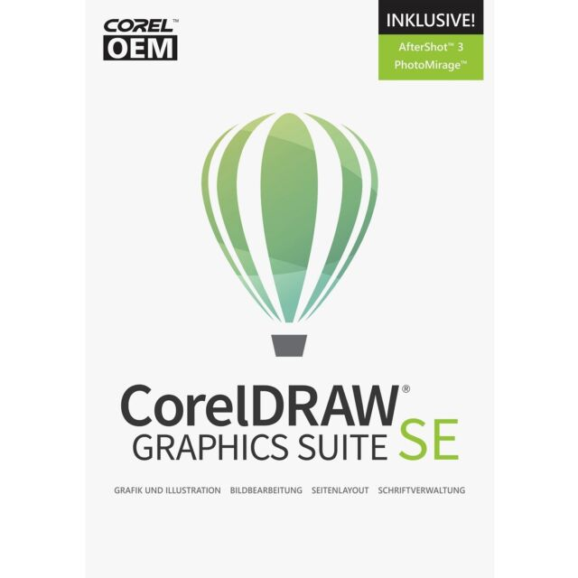 CorelDRAW Graphics Suite 2019 Special Edition OEM +AfterShot + PhotoMirage / KEY