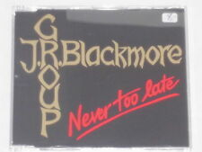 J.R. BLACKMORE GROUP -Never Too Late- CDEP