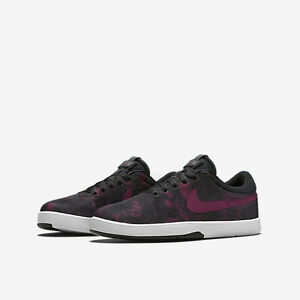 56d696e634 Details about Nike Eric Koston Canvas Skater (GS) Big Kids Shoes SZ 7Y  Black Red 654148 061