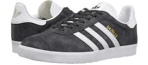 41ca1cd00e8 NIB Adidas Gazelle Women s Utility Black White Gold Metallic BY2851 ...