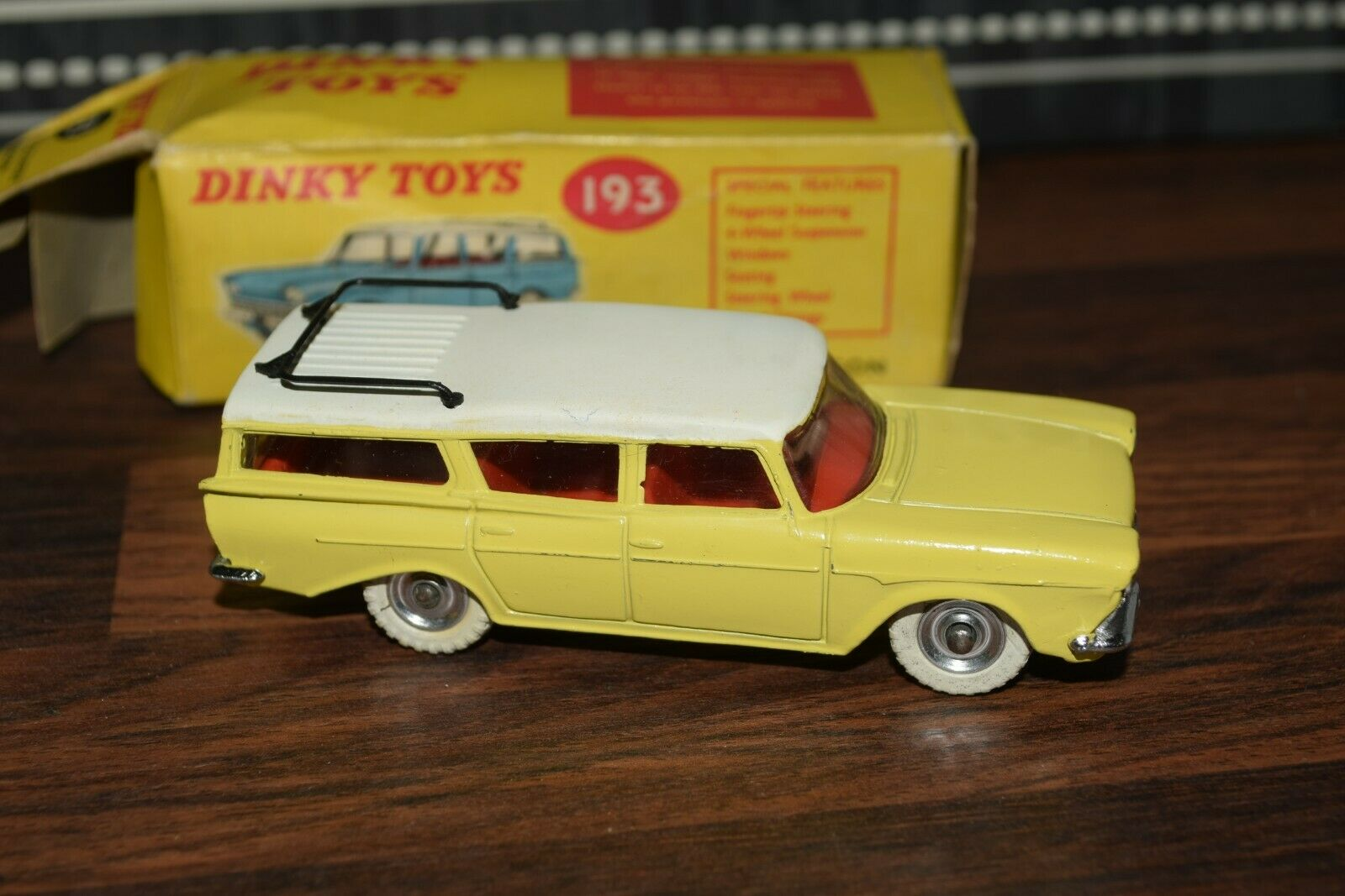 Dinky 193 Rambler Cross Country Station Wagon In Original Box Mint Rare