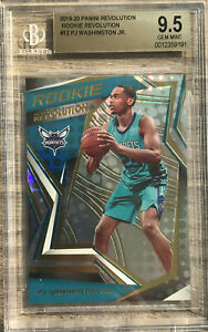 2019-20 Panini Revolution PJ Washington Jr. Silver Prizm Rookie RC BGS 9.5 Pop 1
