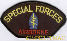 1ST SPECIAL FORCES AIRBORNE REGIMENT HAT PATCH US ARMY VETERAN PIN UP ARROWHEAD