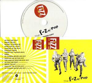 THE-FIZZ-The-F-Z-Of-Pop-2017-UK-15-trk-promo-test-CD-Bucks-Fizz