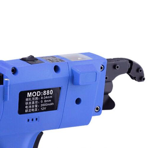 Automatische DRAHTBINDEMASCHINE Rebar Drahtbinder+1 Bindedrahtrollen mit Akkus