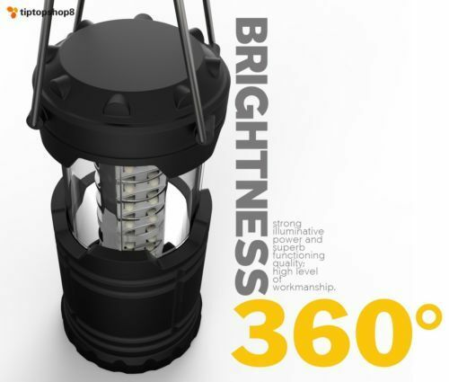 AS Seen on TV Collapsable Storm Tactical LED Lantern Essential Lamps Portable