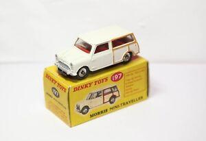 Dinky-197-Morris-Mini-Traveller-In-Its-Original-Box-Near-Mint-Vintage-Original