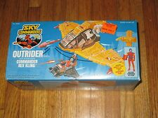 1987 KENNER SKY COMMANDERS OUTRIDER VEHICLE WITH COMMANDER REX KLING NEW IN BOX