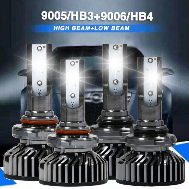 4x Cree 9005 9006 LED Headlight Kit Fit Acura Legend 1995