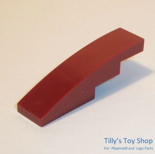 Six 1x4 Curved Stepped Slope ID 11153 Lego Pick a Colour NEW