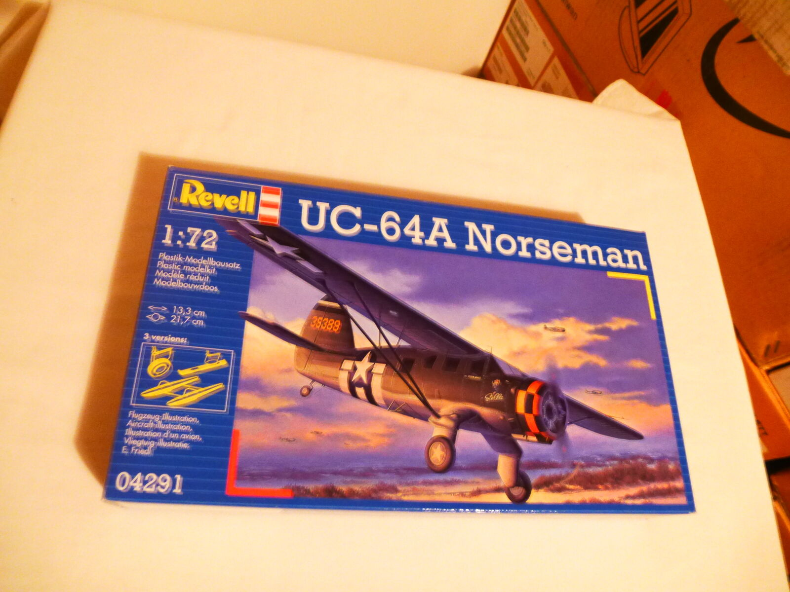 Revell 1 72 UC 64A Norseman