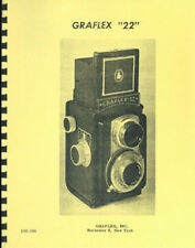Graflex 22 TLR Repair Manual applies to Ciroflex, Dejur Reflex