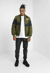 Down original Jacket about AJ1020 Green Jacket Synthetic Fill title Jacket Details Nike Sportswear Bomber show 76Ybfgy