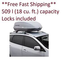 Roof Rack Top Carrier Car Cargo Box Travel Extra Storage Luggage Bags Traveling